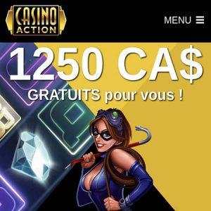 Casino Action au Québec