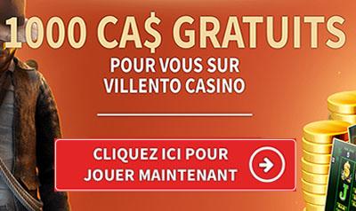 Villento Casino au Québec - Des machines à sous en ligne