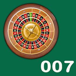 Roulette 007 en ligne